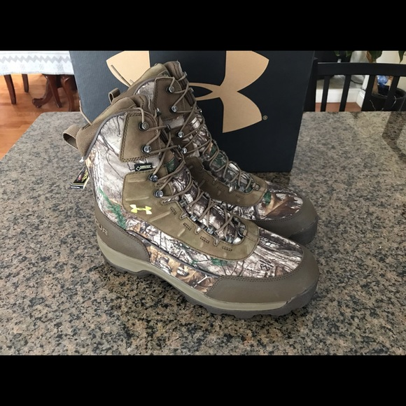 Under Armour Other - Men's Under Armour Brown Tine 800 hunting boots